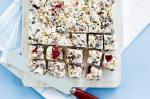 American Jos White Christmas Slice Recipe Dessert