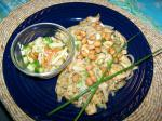 American Kung Pao Noodles and Chicken Appetizer