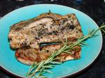 American Grill Pork With Rosemary and Lavender Appetizer