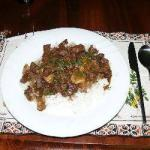 Thai Mass Aman Curry with Beef and Veal Appetizer