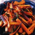 American Roasted Carrots with Rosemary Appetizer