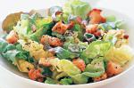 American Fancy Lettuce Salad With Creamy Dressing Recipe Appetizer