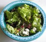 American Quick and Delicious Goat Cheese Salad Dinner