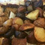 German Oven Baked Potatoes with Rosemary Appetizer