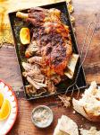 Slowroasted Lamb mechoui recipe