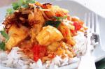 Canadian Fish Curry With Fried Onions Recipe Appetizer