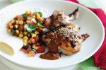 Mexican Tequila Chicken With Mole Recipe Appetizer