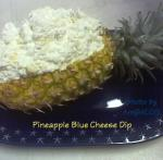 American Pineapple Blue Cheese Dip Appetizer