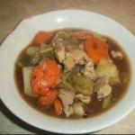 Spanish Stew of Rabbit Appetizer