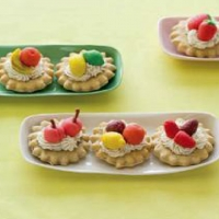 Canadian Marzipan Fruit Cookies Dessert