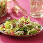 American Southoftheborder Chicken Salad with Tequila Lime Dressing Appetizer