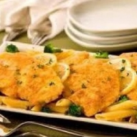 Spanish Chicken Piccata 1 Dinner