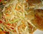 El Salvador Curtido De Repollo  El Salvadorean Cabbage Salad Dinner