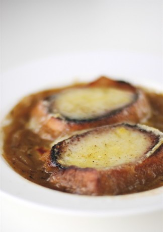 French French Onion Soup traditional Appetizer