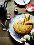 American Turmeric and Aniseed Cake Appetizer
