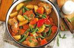 American Honey Mustard Chicken Stew Recipe Appetizer