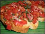 Tomato and Basil Bruschetta 6 recipe