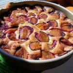 Australian Fast Plum Pie with Cinnamon Dessert