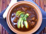 Chilean Pork  Hominy in Red Chiles Soupstew Appetizer