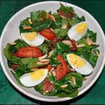 American Wilted Spinach Salad 3 Breakfast