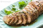 American Grilled Ginger Sesame Pork Tenderloin Recipe BBQ Grill