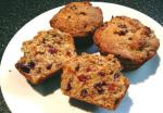 American Orange Muffins With Apricots  Cranberries Dessert