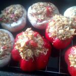Australian Stuffed Mushrooms and Peppers Drink