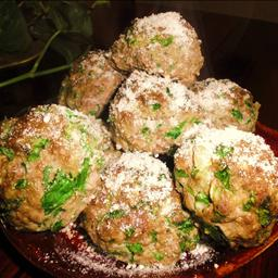 American Sausage and Spinach Meatballs Alcohol