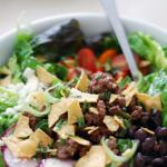 Turkish Zesty Taco Salad Appetizer