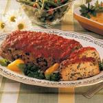 Turkish Turkey Spinach Meat Loaf Appetizer