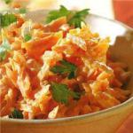 Turkish Turkish Carrot Salad with Garlic Yogurt Appetizer