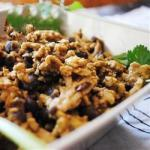 Turkish Middle Eastern Rice with Black Beans and Chickpeas Recipe Appetizer