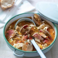 Spanish Ligurian Fish Stew Soup