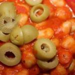 British Sauce in the Chick Peas Appetizer