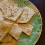 American Crackers with Rosemary Dessert