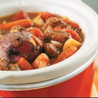 Canadian Crock Pot Beef Stew Soup