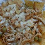 Canadian Nachos with Chicken and Olives Dinner