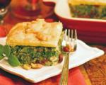 Canadian Winter Greens with Hazelnuts and Cranberries in Puff Pastry Dinner
