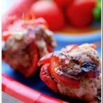 Turkish Meatballs Turkey with Roasted Pepper Appetizer