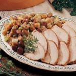 Turkish Turkey with Country Ham Stuffing Dinner