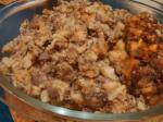 Turkish Homemade Giblet Stuffing for Turkey or Chicken Dinner