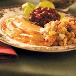 Turkish Turkey with Festive Fruit Stuffing Appetizer