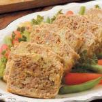 Turkish Turkey Meat Loaf for Two Appetizer