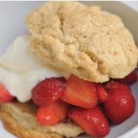 Canadian Strawberry and Biscuit Breakfast