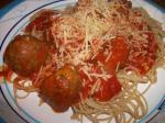 Italian Old World Style Italian Turkey Meatballs Dinner