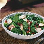 American Spinach Salad with Dijon Vinaigrette Appetizer