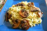 Canadian Lemon Orzo With Mushrooms and Pine Nuts Appetizer