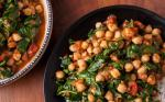 Indian Indian Chickpea Curry with Spinach Recipe Appetizer