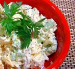 British Mocktato Salad healthy and It Tastes Great Appetizer