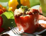 Indian Indian Summer Savory Stuffed Peppers Appetizer